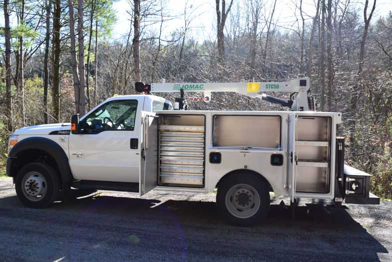 Service Truck Bodies For Sale 187 Jomac