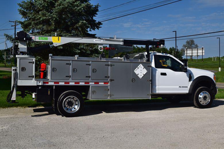 Jomac Aluminum Truck Bodies And Cranes 187 Jomac