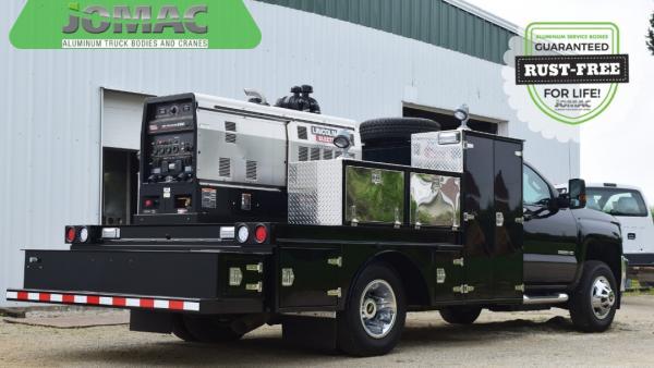 Custom Truck Bodies - Custom Aluminum Truck Bodies » JOMAC