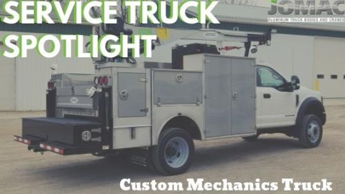 Custom Mechanics Truck Spotlight2