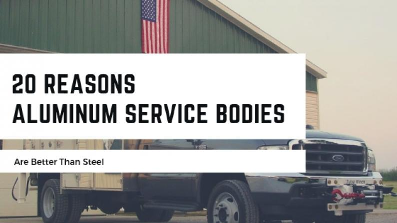 Aluminum Service Bodies better than steel blog banner