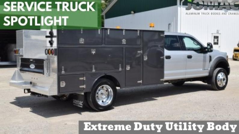 Custom Built Utility Truck Body