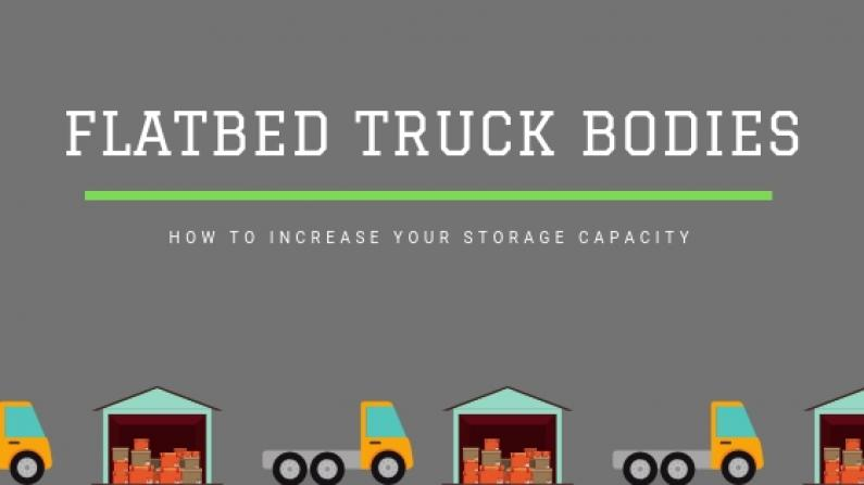 Flatbed Truck Bodies storage solution blog banner