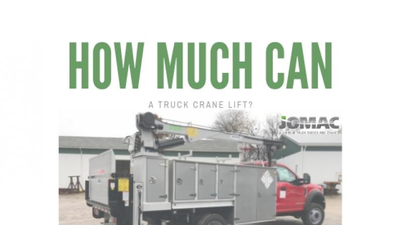 How Much Can a Truck Crane Lift