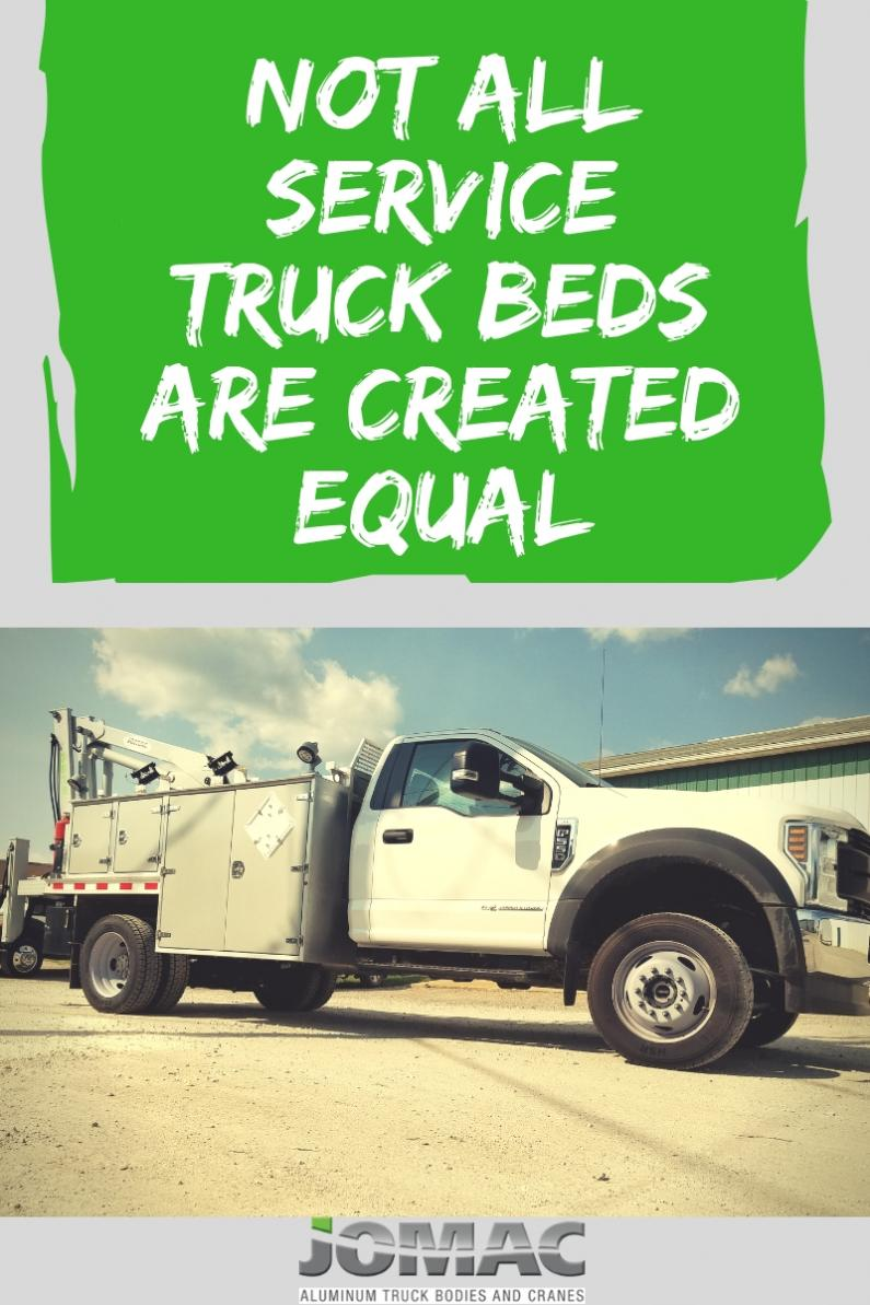 Service truck bed blog cover photo