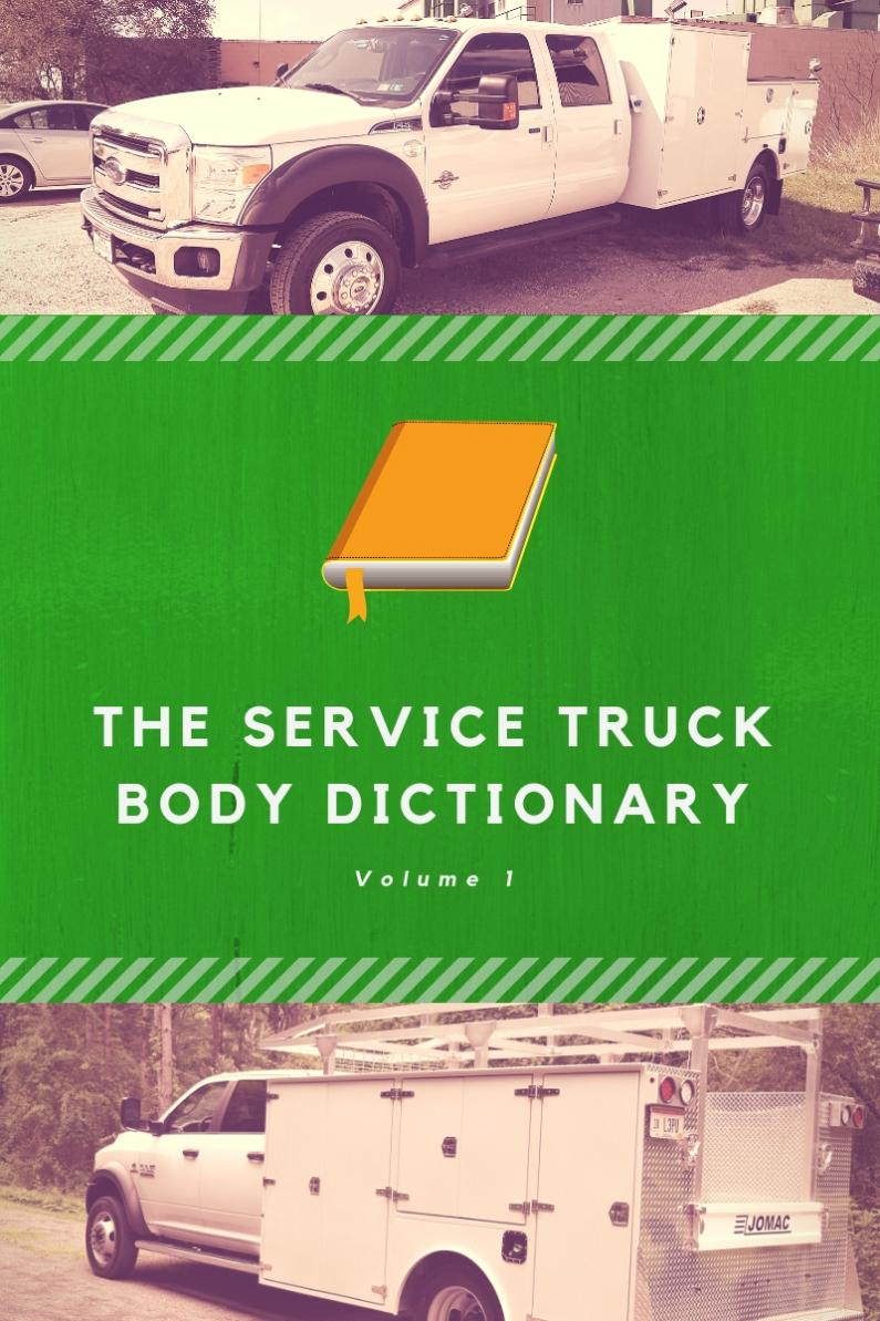 Service truck dictionary blog banner
