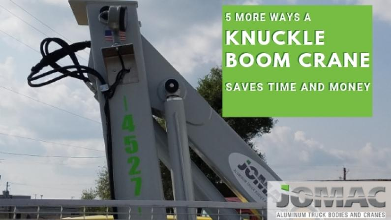 knuckle boom crane saves time and money 2