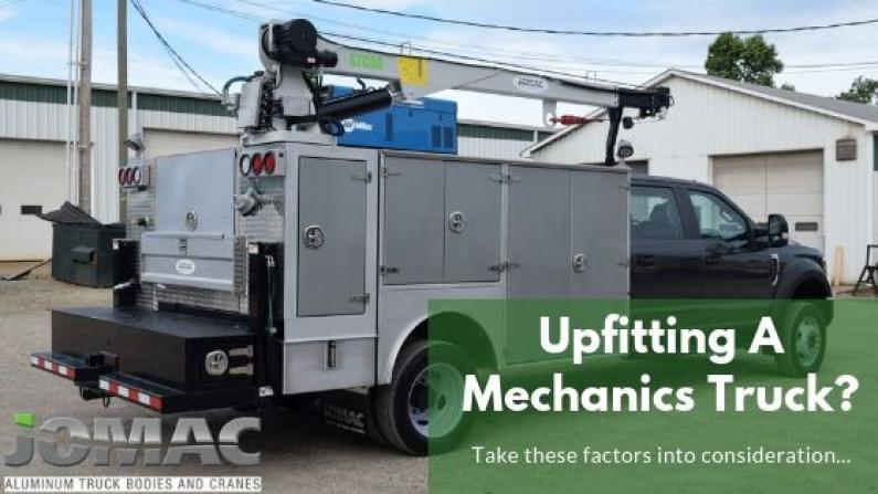 mechanics truck upfit factors