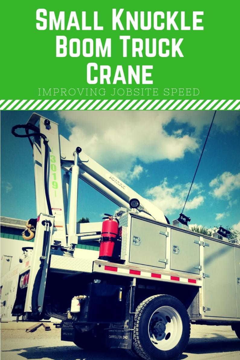 small knuckle boom truck crane blog banner
